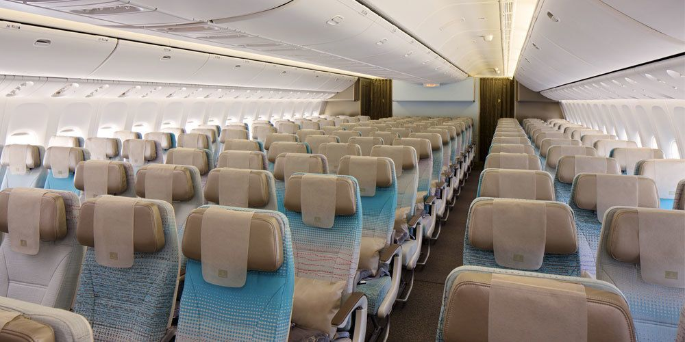 Neuen Gepäckregeln in der Economy Class ab 04.02.2019. Foto: Emirates Airlines