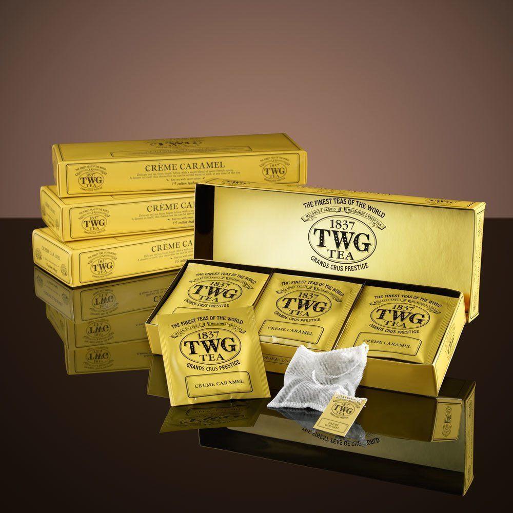 TWG liefert den Crème Caramel Tee. Foto: EVA Air