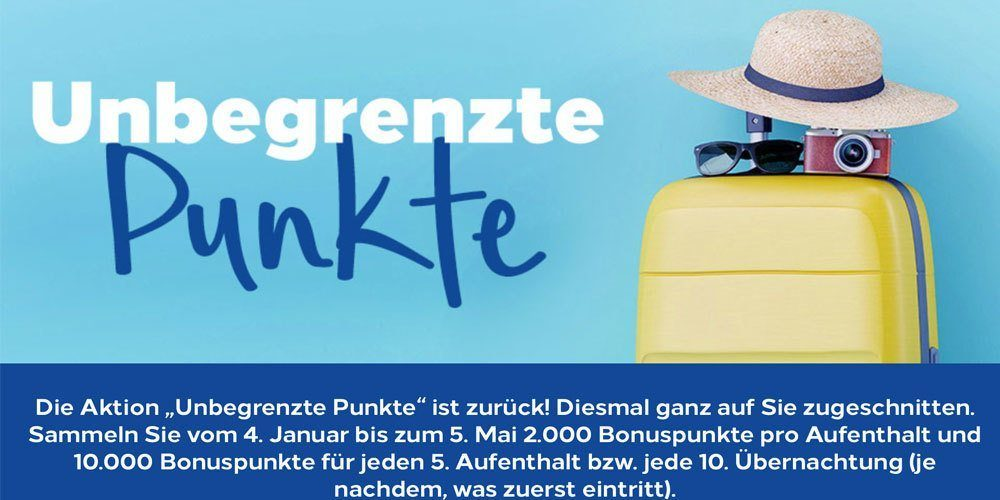 Hilton Honors: Unbegrenzte Punkte Promotion 05.05.2019