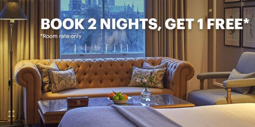 Mit nur 2 Nächten eine Freinacht bekommen, das geht mit der IHG Promotion. Foto: IHG