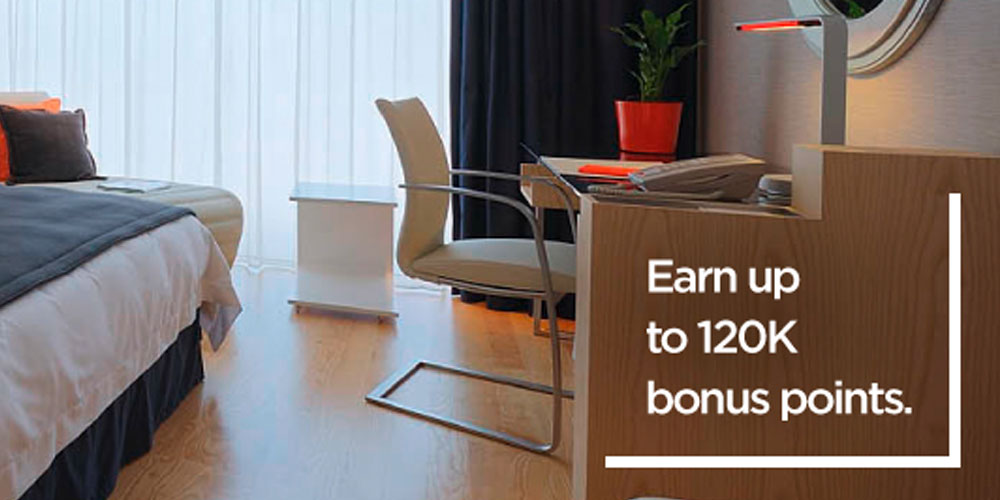 Bei Radisson Rewards gibt nach 20 Nächten 120.000 Bonuspunkte. Foto: Radisson Rewards